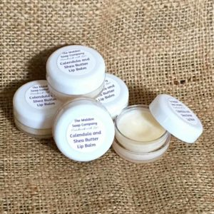 Calendula and shea butter lip balm