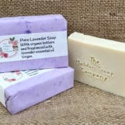 Pure Lavender soap from The Maldon Soap Company