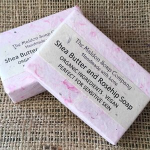 Organic Shea Butter and Rosehip Soap