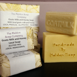 Milk and Honey Soap – with local ingredients