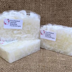 Pure patchouli soap from The Maldon Soap Company