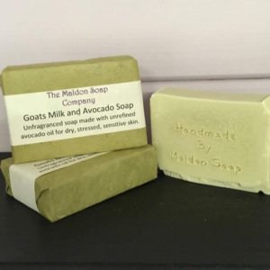 Goats milk and avocado unfragranced soap