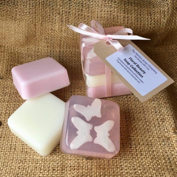 Floral Beauty Soap Collection