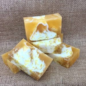 Calendula and Oat soap
