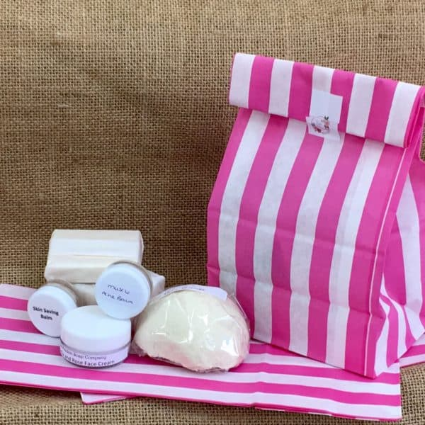 Surprise goody bag from The Maldon Soap Company