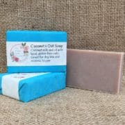 Coconut and Oat soap from The Maldon Soap Company