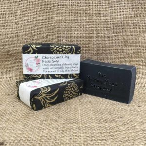 Charcoal and clay face soap from The Maldon Soap Company