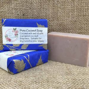 Pure coconut soap from The Maldon Soap Company