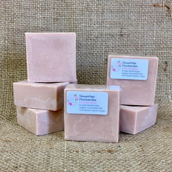 Showertime Moisture Bar from The Maldon Soap Company with the gorgeous relax and unwind fragrance