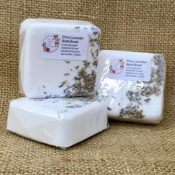 Pure Lavender Bath Bomb from The Maldon Soap Company