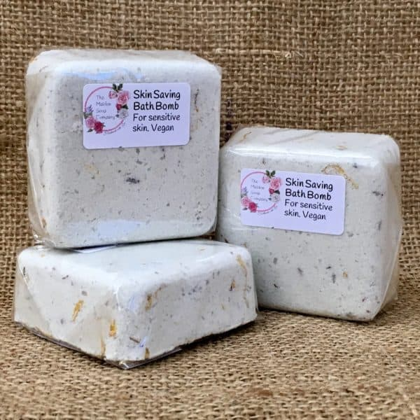 Skin Saving Bath Bomb from The Maldon Soap Company