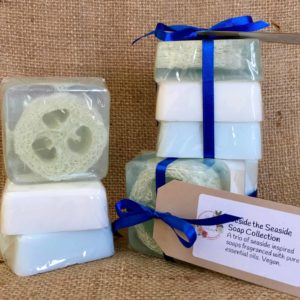 Beside the Seaside Soap Collection from The Maldon Soap Company