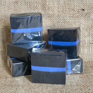 The Thin Blue Line Soap from The Maldon Soap Company