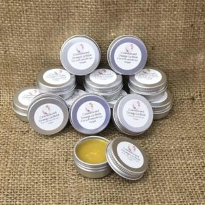 calendula and orange lip balm from the maldon soap company