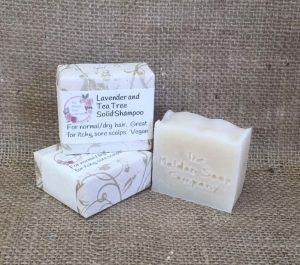 Lavender and Tea Tree Solid Shampoo from The Maldon Soap Company