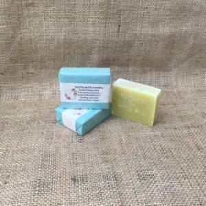 Nettle and Rosemary Soap from The Maldon Soap Company
