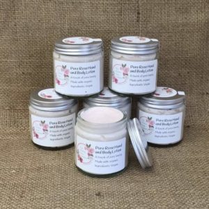 Pure Rose Hand and Body Lotion from The Maldon Soap Company