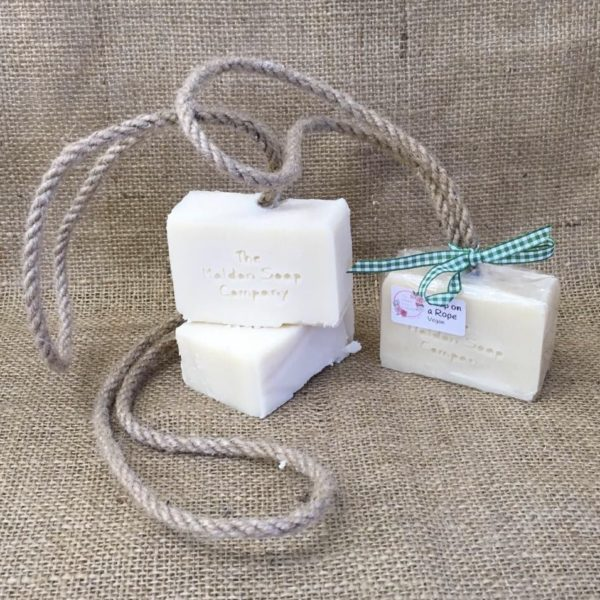 soap on a rope from The Maldon Soap Company