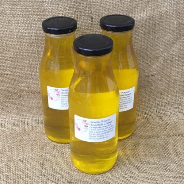 Orange and grapefruit multi purpose household cleaner from The Maldon Soap Company