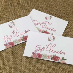 Gift Vouchers from The Maldon Soap Company