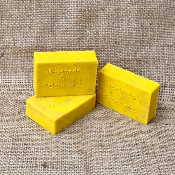 Carrot and almond facial soap from The Maldon Soap Company