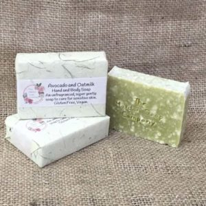 Oatmilk and Avocado Soap from The Maldon Soap Company