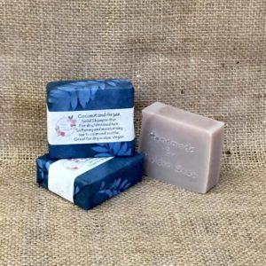 Coconut and Argan solid Shampoo Bar from The Maldon Soap Company