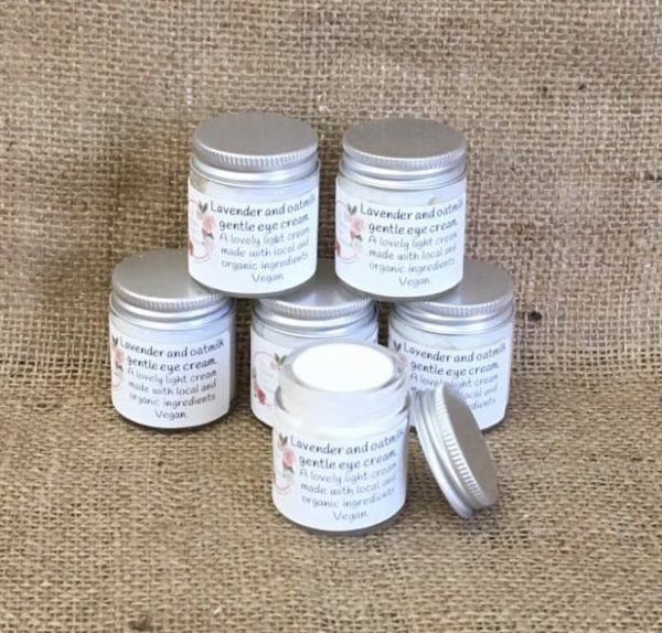 Lavender and oatmilk gentle eye cream from The Maldon Soap Company