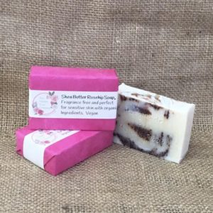 Shea Butter and Rosehip Soap from The Maldon Soap Company