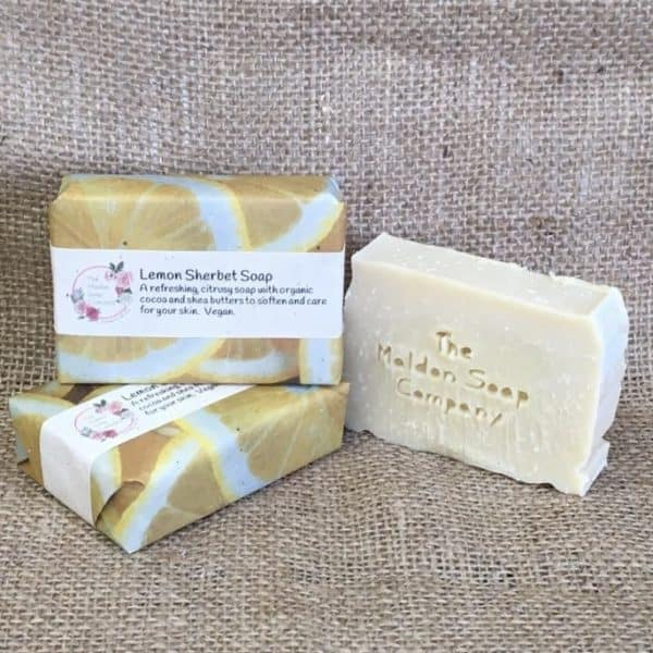 Lemon Sherbet Soap from The Maldon Soap Company