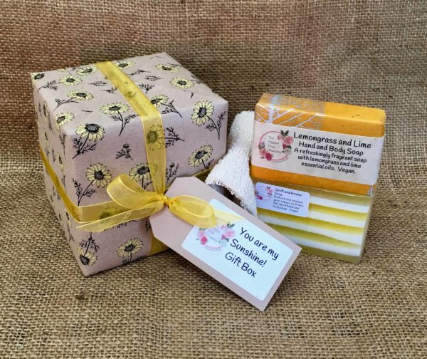You are my sunshine gift box from The Maldon Soap Company