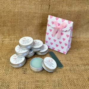 Cuticle Balm with organic argan and chamomile