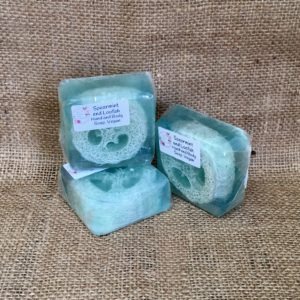 Spearmint and Loofah Soap from The Maldon Soap Company