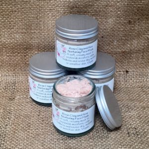 Rose clay and aloe face mask from The Maldon Soap Company