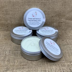 Orange and Patchouli Hand and Body Lotion