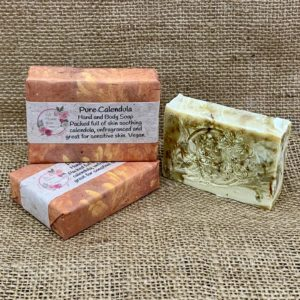 Pure Calendula Soap from The Maldon Soap Company