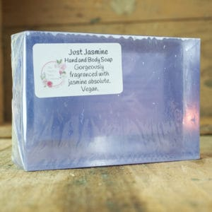 Just Jasmine hand and body soap from The Maldon Soap Company