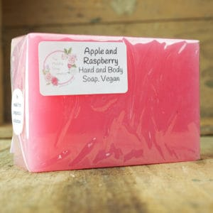 Apple and Raspberry Soap from The Maldon Soap Company