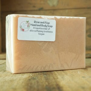 Rose and Aloe Soap from The Maldon Soap Company