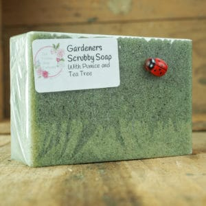 Gardeners Scrubby Soap from The Maldon Soap Company