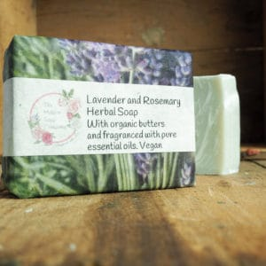 Lavender and Rosemary Soap from The Maldon Soap Company