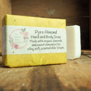 Pure Almond hand and body soap from The Maldon Soap Company