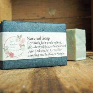 Survival Soap from The Maldon Soap Company