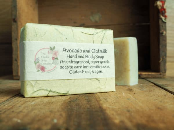 Avoado and Oatmilk Soap from The Maldon Soap Company