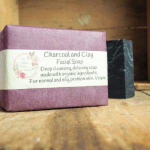 Charcoal and Clay Facial Soap from The Maldon Soap Company