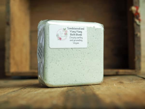 Sandalwood and Ylang Ylang Bath Bomb from The Maldon Soap Company