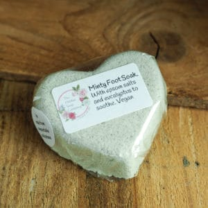 Minty Foot Soak from The Maldon Soap Company