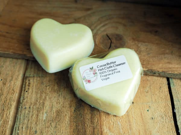 Organic Cocoa Butter Hot Cloth Cleanser from The Maldon Soap Company