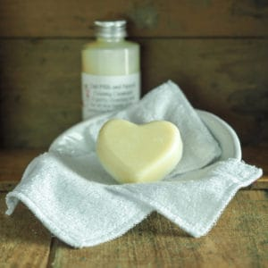 Organic Cotton Re-usable Make Up Cloths from The Maldon Soap Company
