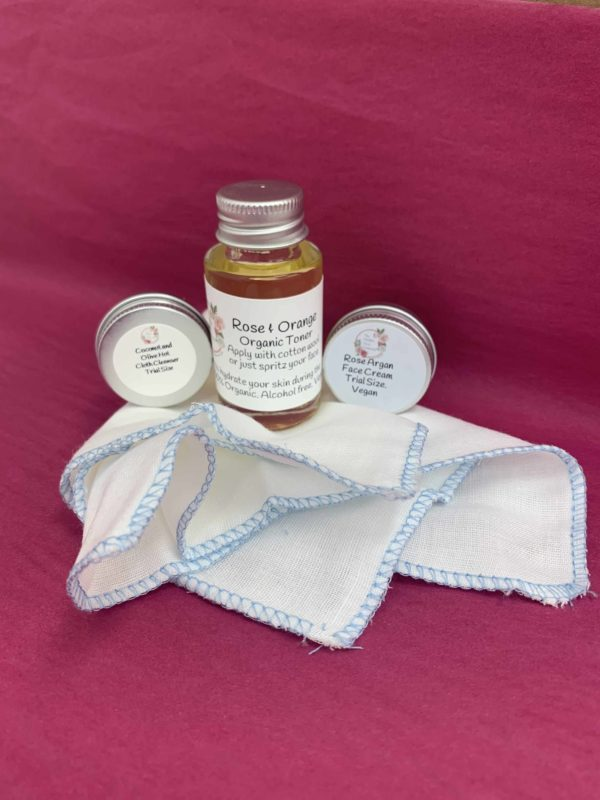 Hot Cloth Cleanser Trial Pack from The Maldon Soap Company